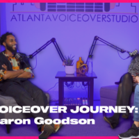 Episode 19: Real Voiceover Journey with Aaron Goodson